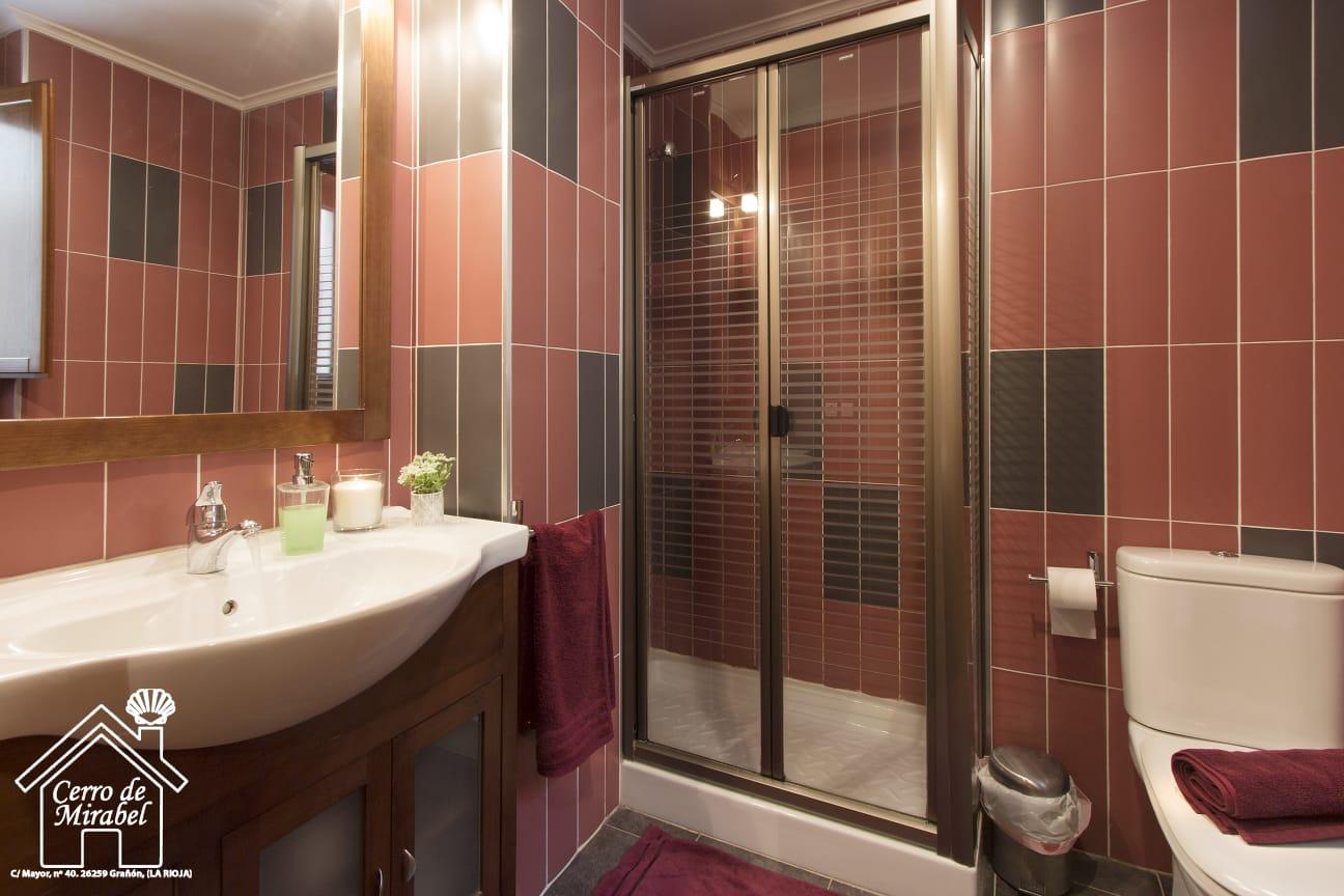 baño habitacion amarilla cerro de mirabel grañon